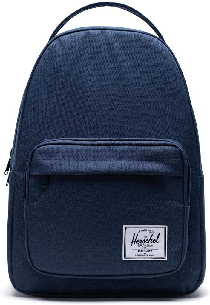 Herschel Supply navy blue backpack