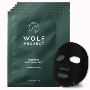Wolf Project Hydrating Face Mask Sheet - grooming guide for black men