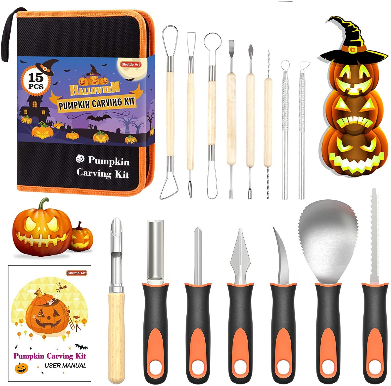 Shuttle Art Halloween Pumpkin Carving Kit
