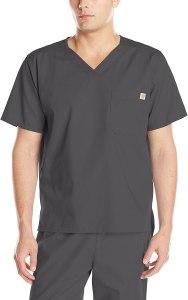 Carhartt men's ripstop utility scrub top, best men's scrubs