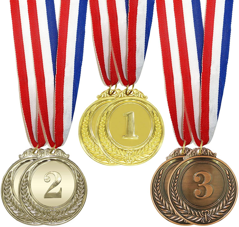 IFAMIO Premium 6 Pcs Award Medals