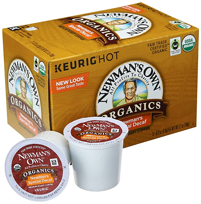Newman's Own Organic Decaf Coffee K-Cup