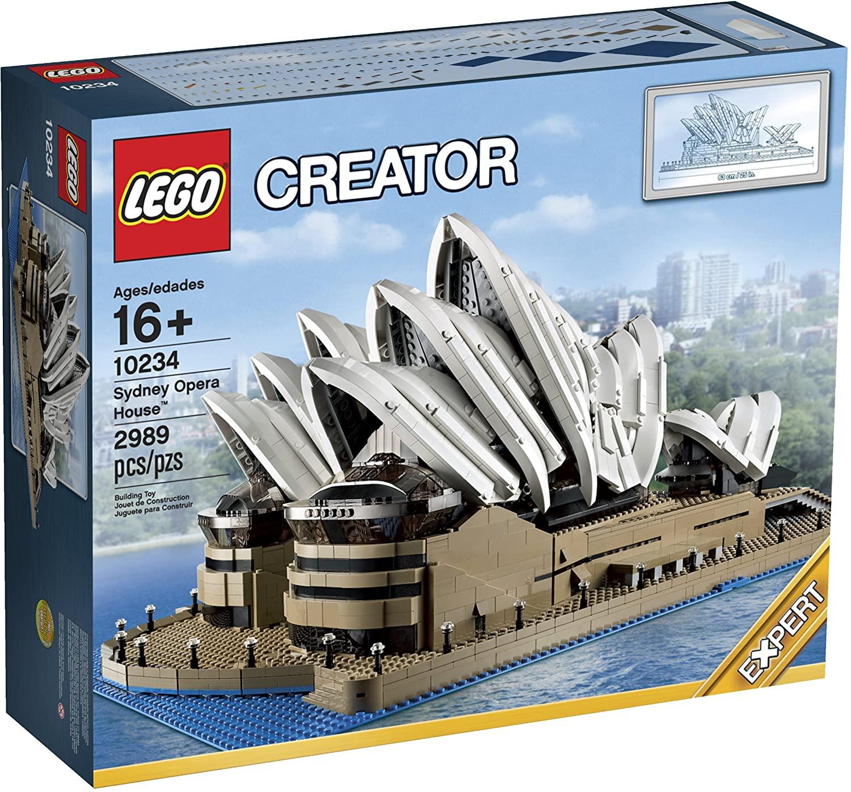 LEGO Sydney Opera House Set