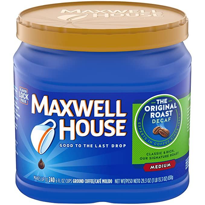 Maxwell House Decaf Coffee