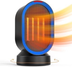 ALROCKET Personal Desk Space Heater, one of the best space heaters