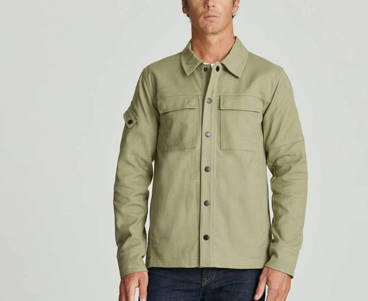 aether shadow jacket in mineral