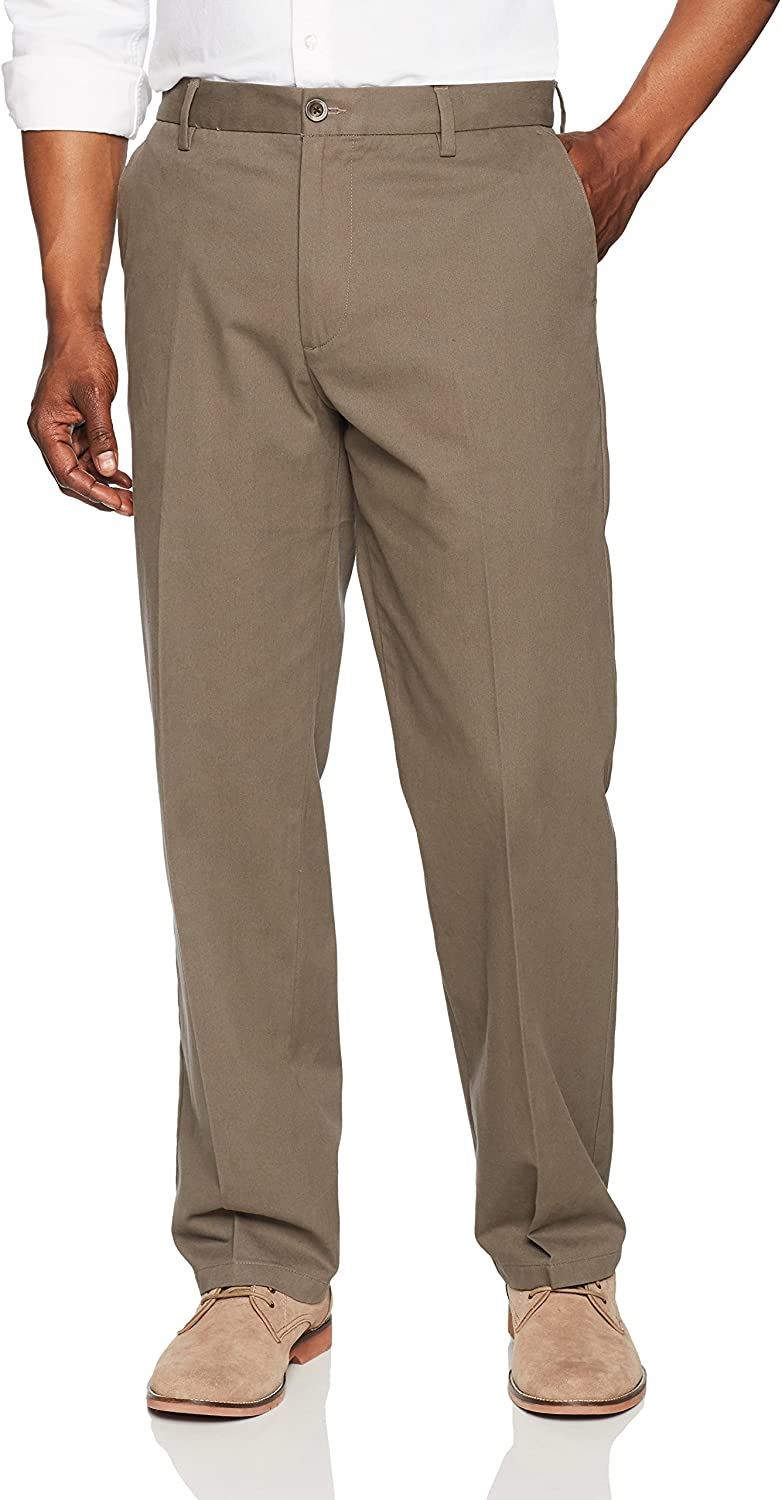 Amazon Essentials Wrinkle-Resistant Flat-Front Chino Pants