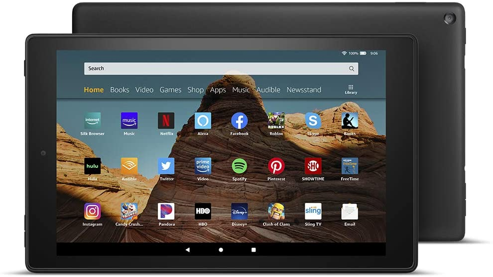 Amazon Fire HD 10 Tablet, best gifts for book lovers