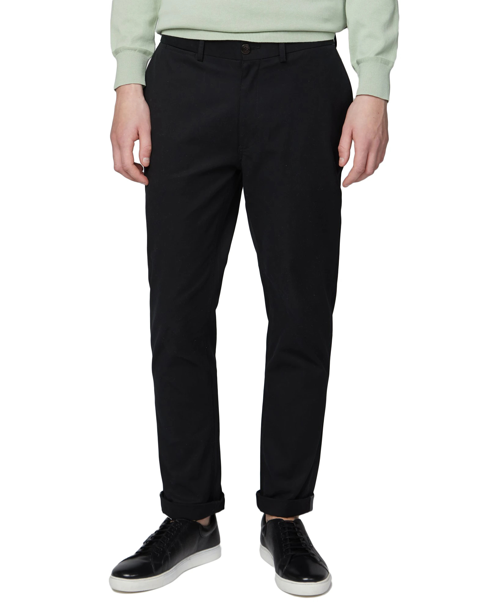 Ben Sherman black signature slim stretch chino khaki pants