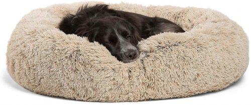 Best Friends by Sheri Donut Cuddler Dog Bed