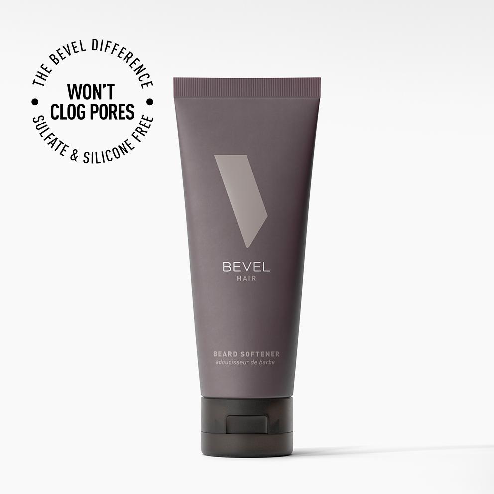 Bevel beard softener