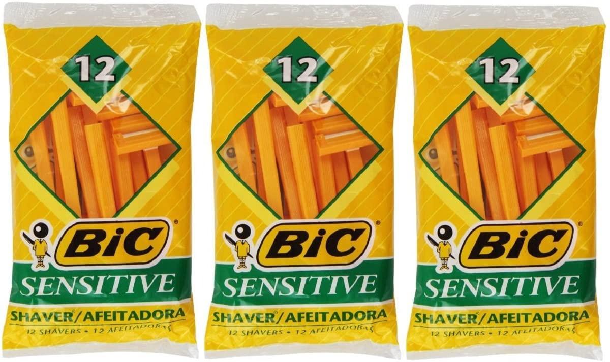 Bic Single Blade Shavers for sensitive skin