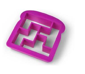 Bites & Pieces Puzzling Crust Cutter