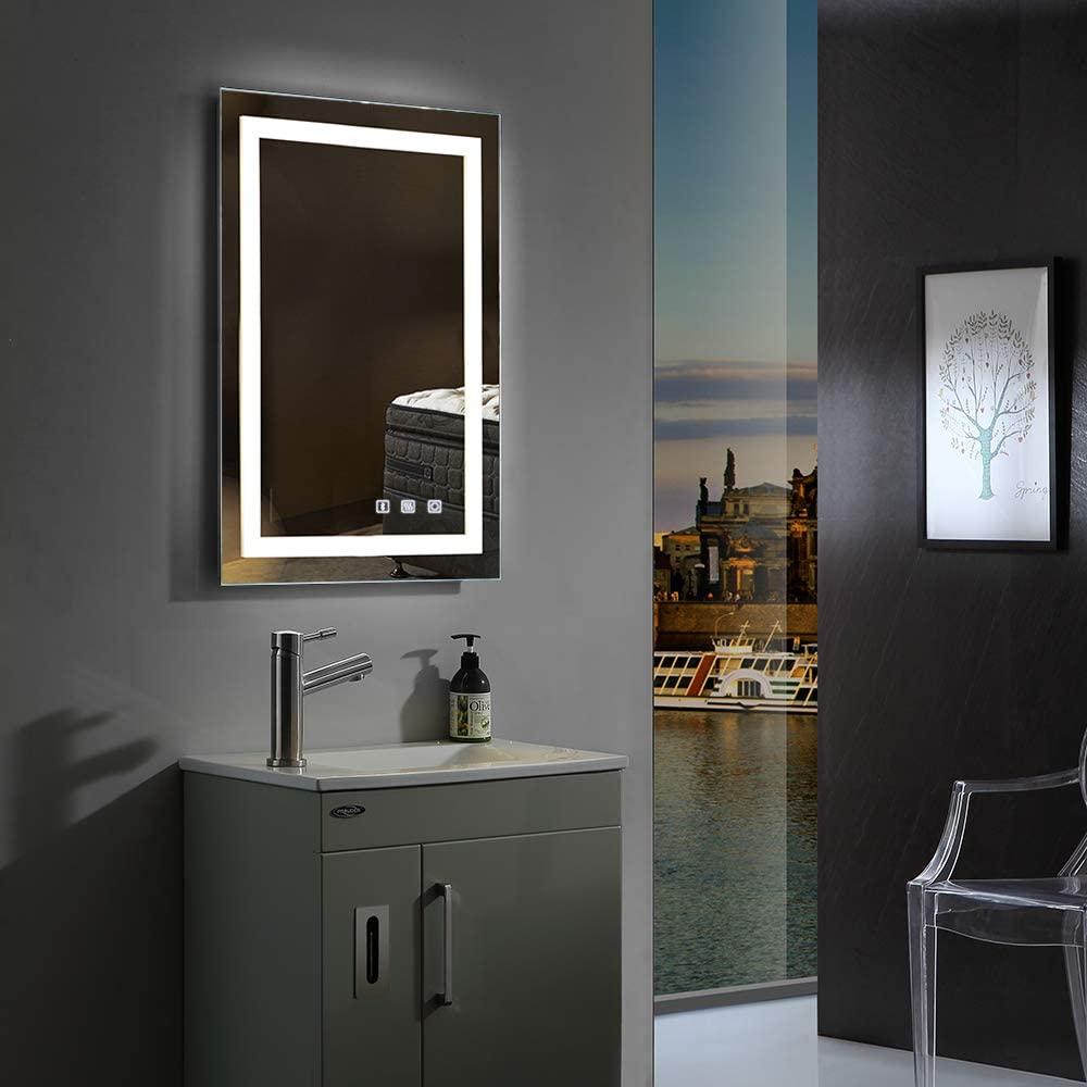Bonnloo Dimmable Led Illuminated Mirror