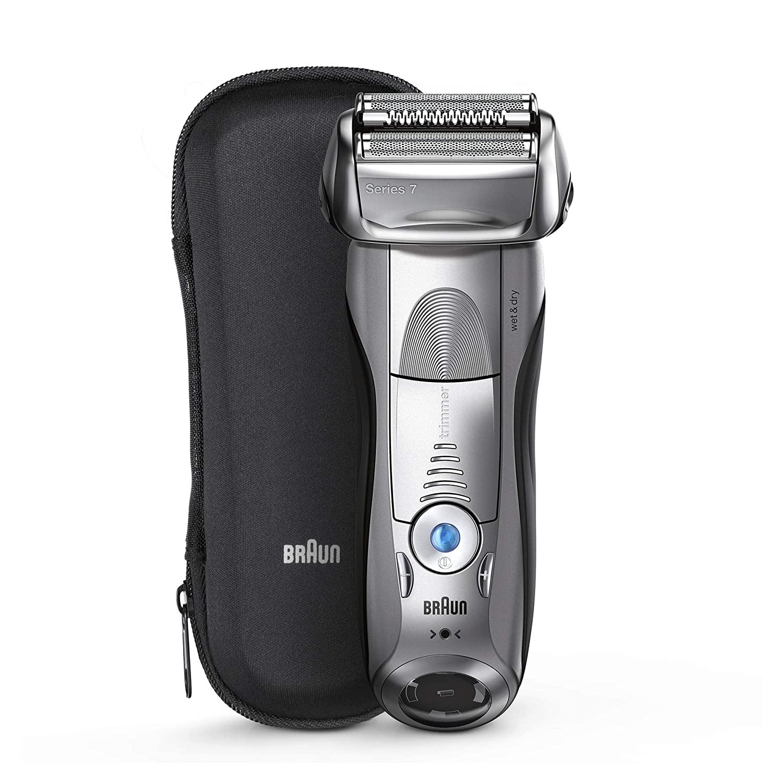 Braun Series 7 Electric Razor, best razors for men