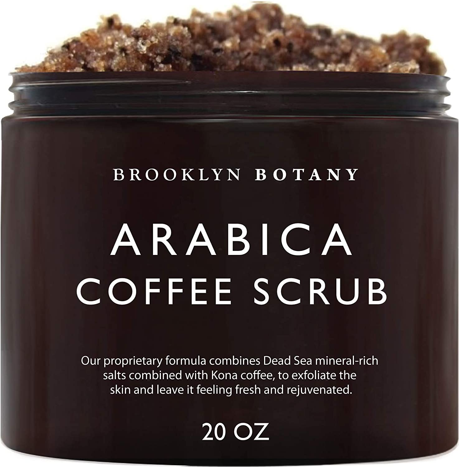 Brooklyn Botany Coffee Body and Face Scrub