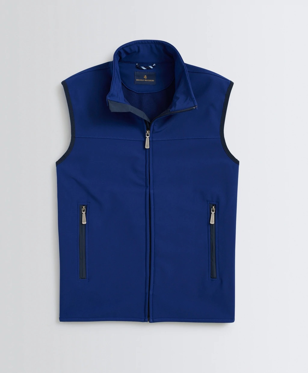 brooks brothere royal blue water repellent vest