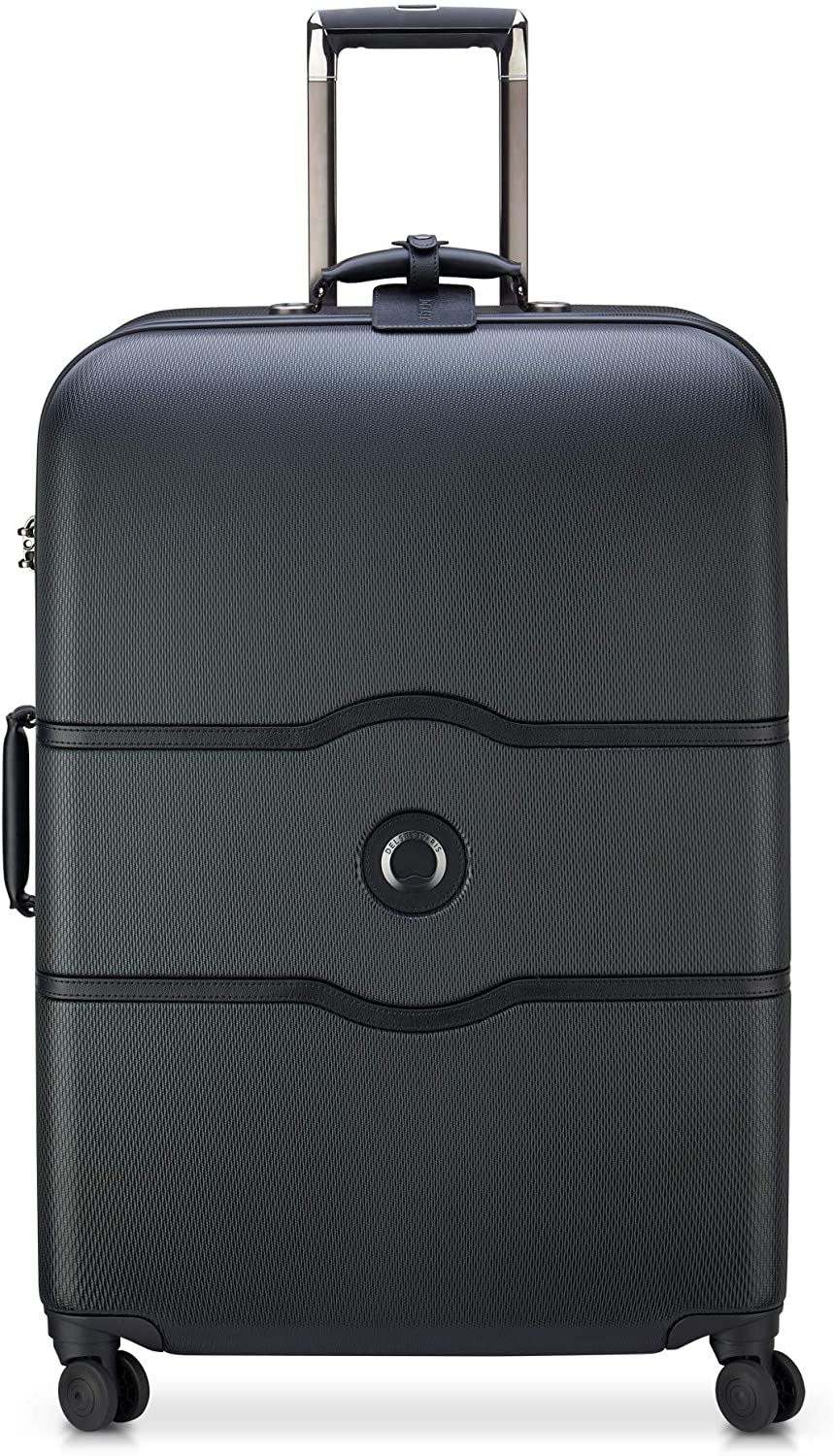 delsey paris black 28 inch spinner