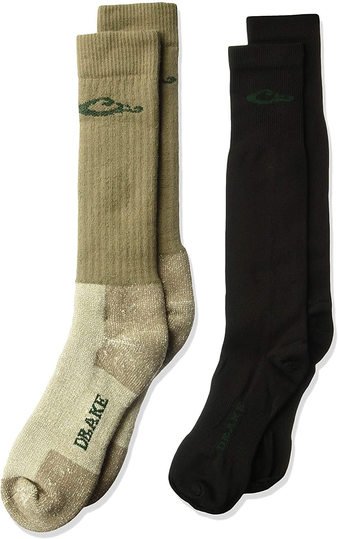 Drake men's meriono wool socks 2 pack