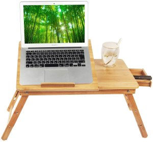 laptop stand for bed ecobambu