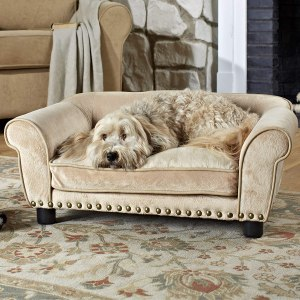 enchanted home sofa dog bed, gifts for dog lovers