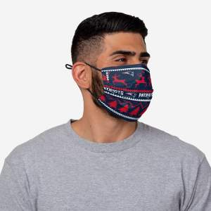 FOCO Christmas Patriots face mask, Cheap christmas gifts