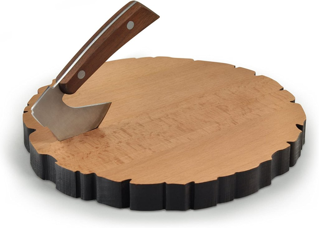 best gifts under $50 - Fred Cheese Log Board and Knife Set