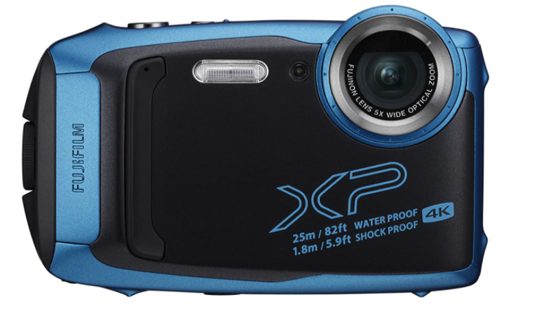 fujifilm finepix xp140 underwater camera