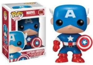 funko pop captain american