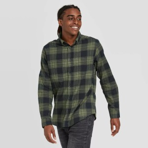 Goodfellow & Co™ Flannel Button-Down Shirt