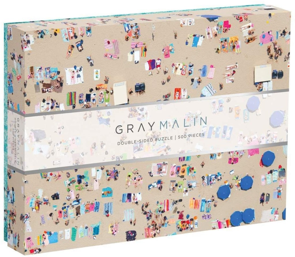 best gifts under $50 - Galison Gray Malin 2-Sided Jigsaw Puzzle