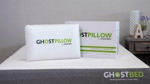 GhostPillow Memory Foam Pillow