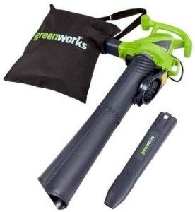 greenworks leaf vacuum