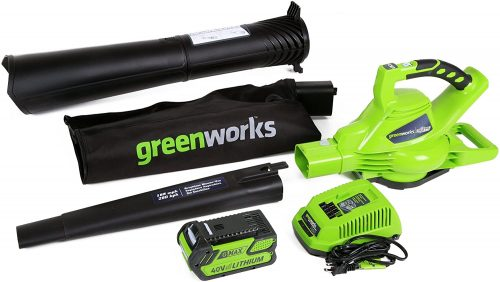 Greenworks Variable Speed Cordless Leaf Vacuum