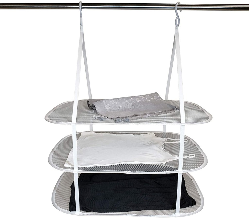 HOMZ 3 Tier Drying Rack