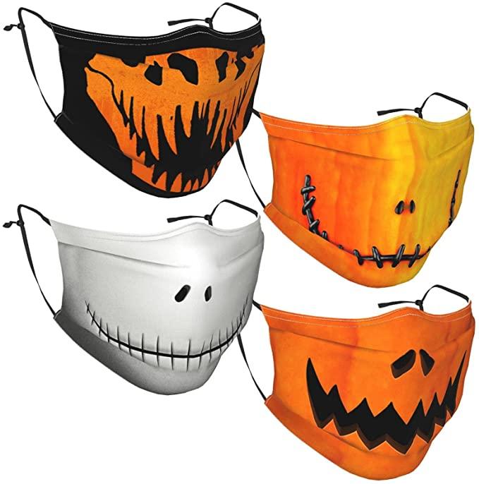 Yawhevg Happy Halloween Face Masks