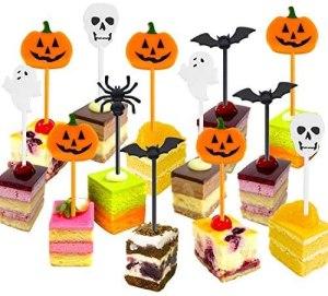 Halloween toothpicks, how to host a Halloween movie night