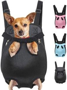 dog backpack carrier henkelion