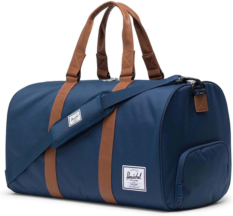 herschel blue novel duffel bag