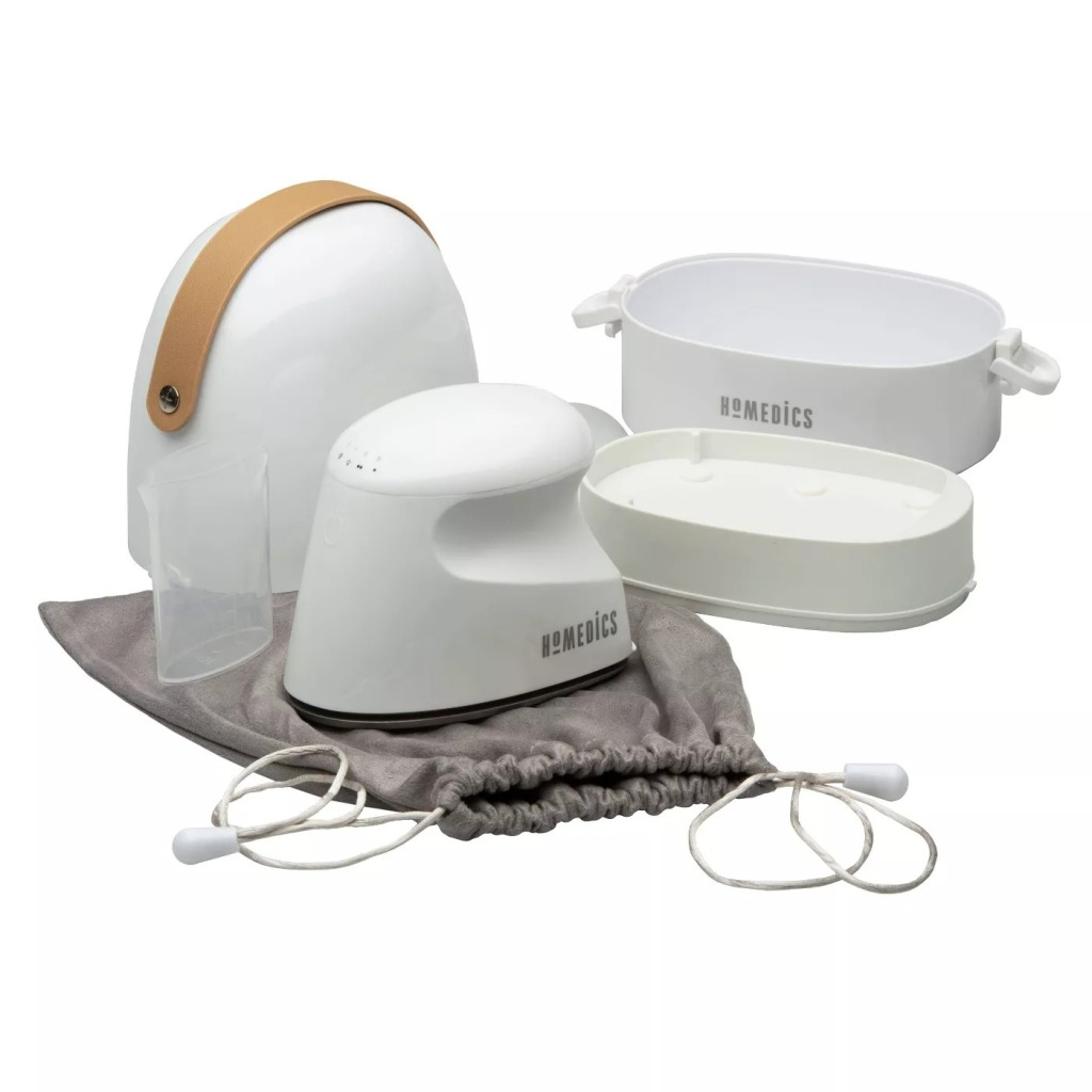 HoMedics Perfect Steam Professional Mini Garment Steamer And Iron