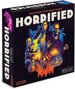 horrified board game, how to host a Halloween movie night