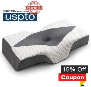 IKSTAR Memory Foam Ergonomic Orthopedic Pillow