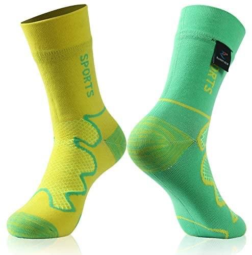 waterproof sock, green yellow