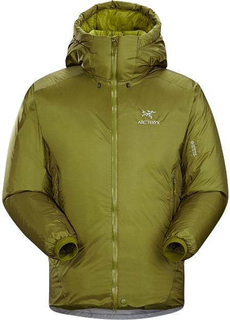 insulated jacket green
