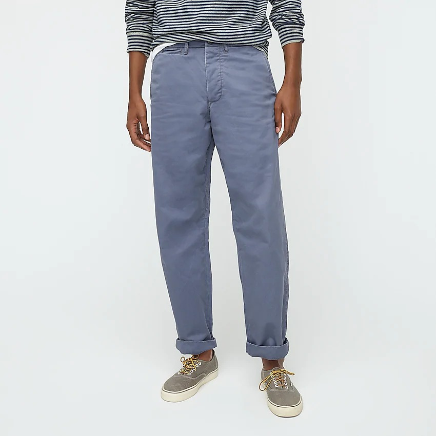 J Crew Wallace & Barnes blue chino pants