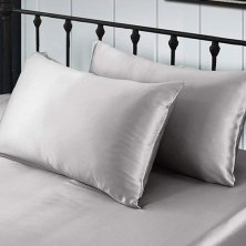 sensitive skin sufferers, do yourself a favor and buy a silk pillowcase