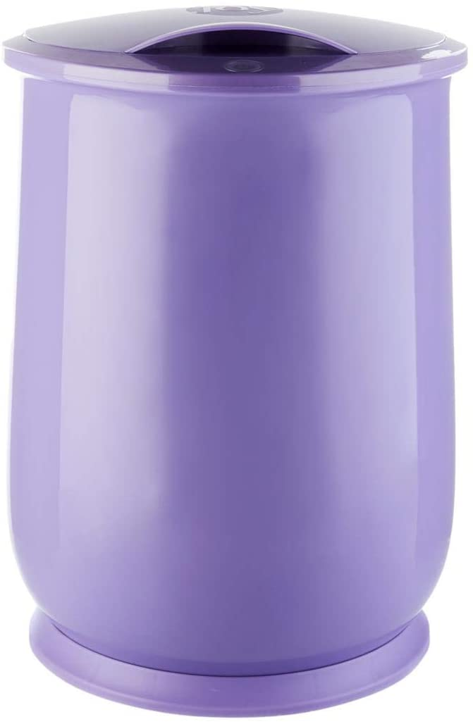 Joy luxury spa towel blanket warmer with forever fragrant lavender