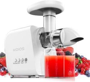 KOIOS juicer, cold press juicers