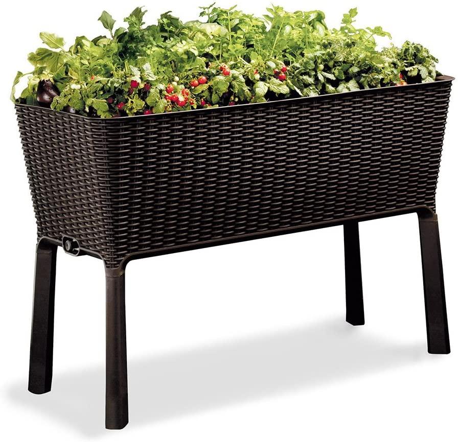 Keter Easy Grow 31.7 Gallon Raised Garden Bed
