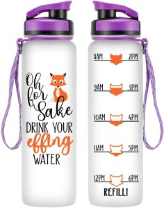 leado water bottle